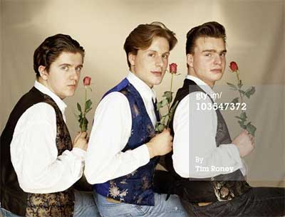 Seriously... these guys were briefly pop stars. Smash hits cover and everything. look at them (Watermark supplied by Getty Images)