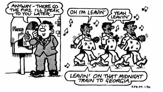An old, and horribly dated, Viz Crap Joke